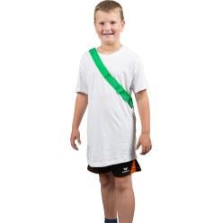 Mannschaftsband Rot Kinder, L: ca. 50 (100) cm