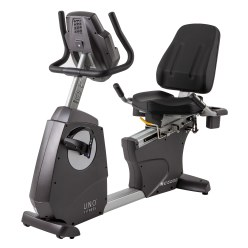 "U.N.O. ""RC 6000 Pro"" Recumbent Ergometer Exercise Bike"