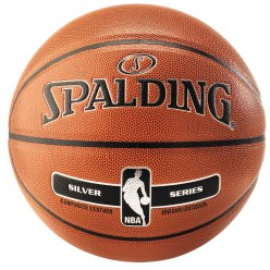 "Spalding® ""NBA Silver"" Basketball"