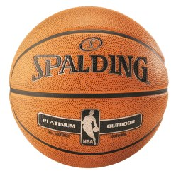 "Spalding Basketball  ""NBA Platinum Outdoor"""