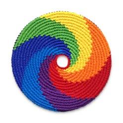 """Wurfscheibe """"Pocket Disc Rainbow"""""""