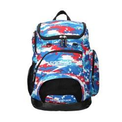 """Speedo® Schwimmer-Rucksack """"Teamster"""" Digi Camo/Red/White/Blue"""