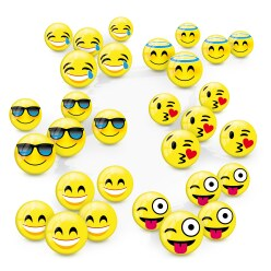 Mini Emoji Ball Set