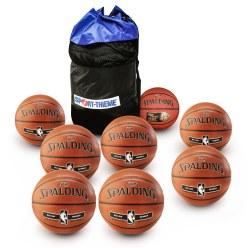 "Spalding® ""National League"" Basketball Set"