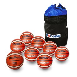 "Molten ""School"" Basketball Set"