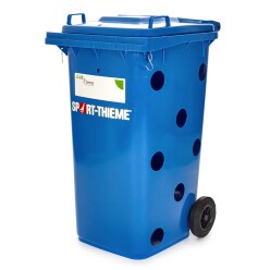 """All-in"" Ball Bin Blue"