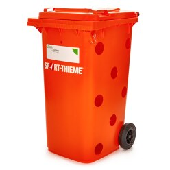 """All-in"" Ball Bin Red"