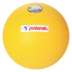 Polanik® Competition Shot Put 100 mm, IAAF, 4 kg