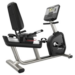 "Life Fitness® Recumbent Bike ""Club Series+"""