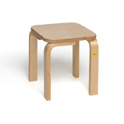 "Erzi Exercise Stool ""Moulded Wood"""