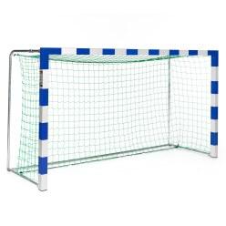 Sport-Thieme® Mini-Handballtor, freistehend mit anklappbaren Netzbügeln