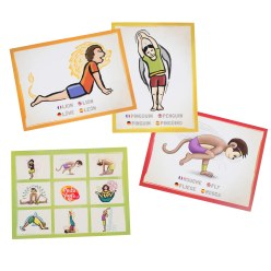 PedaYoga Position Cards