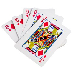 BS Toys Giant Playing Cards