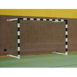 Sport-Thieme 3×2 m, pivoting with SimplyFix Handball Goal
