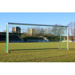 Youth Football Goal 5x2 m, Fully Welded with PlayersProtect