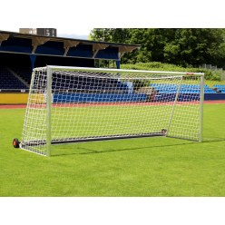 "Sport-Thieme Fully Welded, ""Safety"" Full-Size Football Goal with PlayersProtect"
