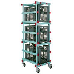 "REA ""180"" Ball Storage Trolley"