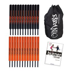 "Burnermotion® ""School Set"" Gladiator Bats"
