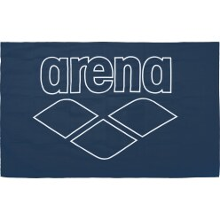"Arena Badetuch  ""Pool Smart"" Navy/White"