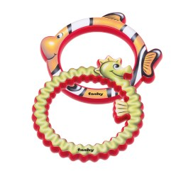 "Fashy ""Aquatic Animals"" Diving Ring Set"