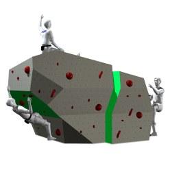 """OnTop® Boulderwand  """"Elfenstein"""""""