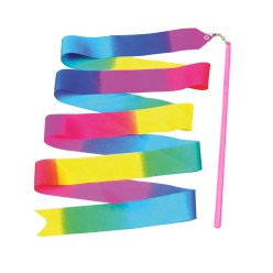 Rainbow Gymnastics Ribbon