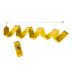 Sport-Thieme® Competition Gymnastics Ribbon Yellow