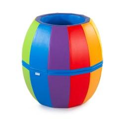 Sport-Thieme® Mini Turn- und Spielfass Regenbogen
