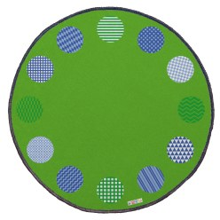 "Achoka Games Mat ""Morning Circle"" Games Mat"