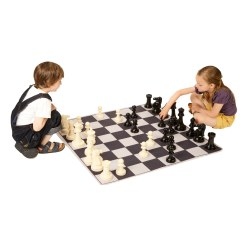 "Achoka Games Mat ""Chess"" Games Mat Set"