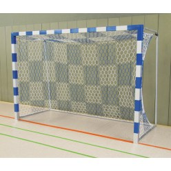 Sport-Thieme Handball Goal Black/silver, Welded corner joints