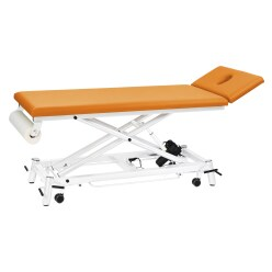 """Ecofresh"" Therapy Table, 68 cm Apricot, White"
