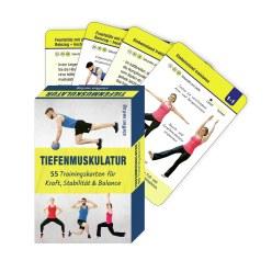 Steffen Verlag Trainingskarten Rückenfit mit TheraBand