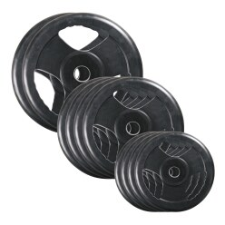 Sport-Thieme® Gummi Wettkampf-Hantelscheiben-Set, 50 kg