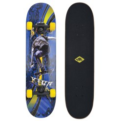 "Schildkröt Skateboard ""Slider 31'' Cool King"""