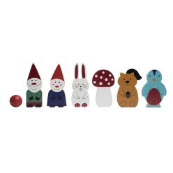 "BS Toys Bowlingspiel ""Forest Friends"""