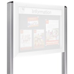 Information Display Unit Stands