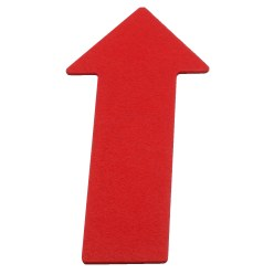 Sport-Thieme® Floor Markers Red, Arrow, 35 cm