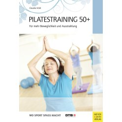 "Buch ""Pilatestraining 50 plus"""
