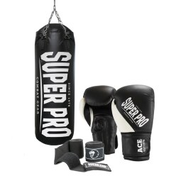 "Super Pro Punchbag-Set ""Water-Air"""