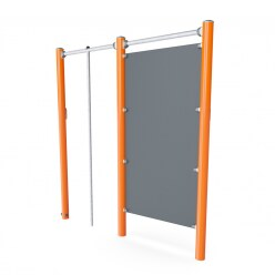 "Kompan Outdoor-Fitness-Station ""Human Flag Stange & Handstand-Wand"""