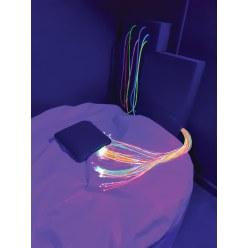 Ultra Violet Fiberoptik strenge
