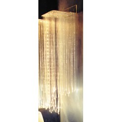 Vægophæng til fiberoptikstrenge
