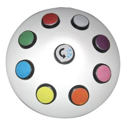 Rompa Trådløs kontrolenhed 8-farvet
