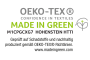 Oeko Tex Made in Green
