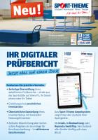 Flyer des Sportgeräte-Services