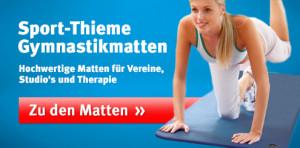 Gymnastikmatten im Sport-Thieme Online-Shop