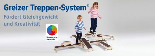 Greizer Treppen-System® - Fördert Gleichgewicht und Kreativität