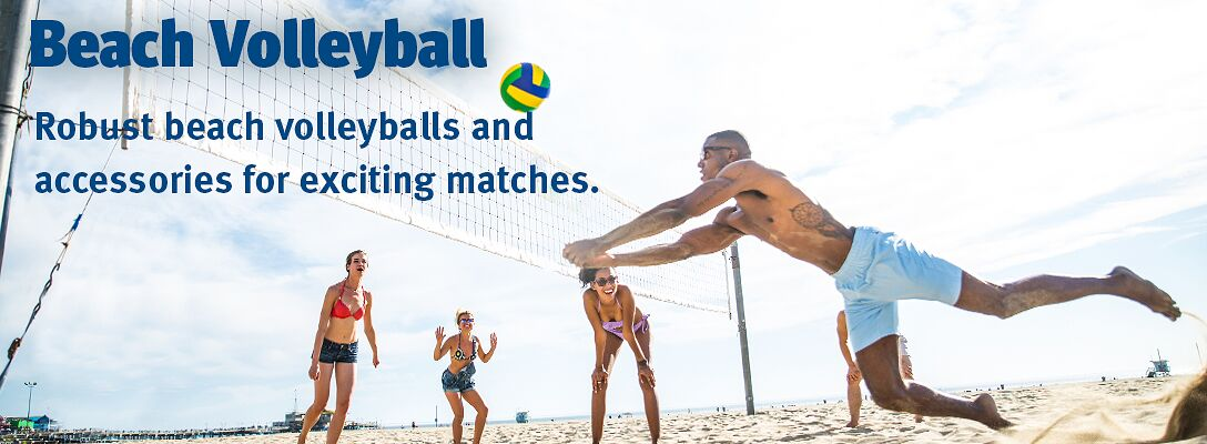 Beach Volleyball: accessories and balls