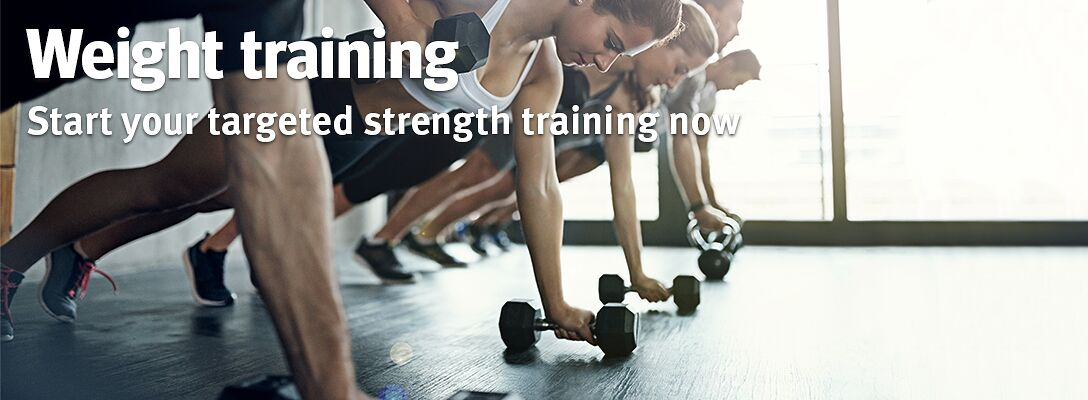 Weight training: start now